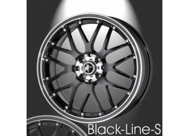 musketier-citroën-c2-lichtmetalen-velg-zwart-line-s-7x16-zwart-rand-gepolijst-zwarte-rand-C24446B
