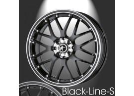 musketier-citroën-c3-lichtmetalen-velg-zwart-line-s-7,5x18-zwart-rand-gepolijst-zwarte-rand-C3S34623B