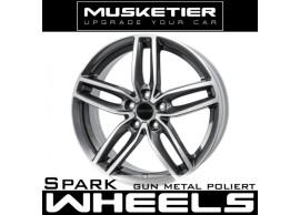 musketier-citroën-c4-aircross-lichtmetalen-velg-spark-7,5x17-gun-metal-gepolijst-C4AC77521GMP