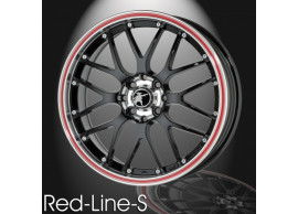 musketier-citroën-nemo-lichtmetalen-velg-red-line-s-7x16-zwart-rand-gepolijst-rode-rand-NE44713B