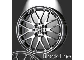 musketier-peugeot-206-lichtmetalen-velg-black-line-6x15-zwart-gepolijst-zwarte-rand-20643011BP