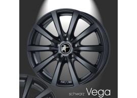 musketier-peugeot-206-lichtmetalen-velg-vega-7x17-mat-zwart-20645023B