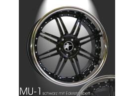 musketier-peugeot-407-lichtmetalen-velg-mu-1-85x19-zwart-met-rvs-40798513EB
