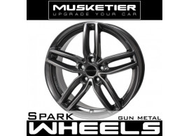 musketier-peugeot-407-coupé-lichtmetalen-velg-spark-8x18-gun-metal-PC4078828GM