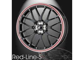 musketier-peugeot-bipper-lichtmetalen-velg-red-line-s-7x16-zwart-rand-gepolijst-rode-rand-BI44713B