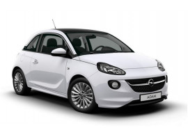 Opel Adam OPC-line voorspoiler met verlengstukken 13415609, 13400779, 13400781