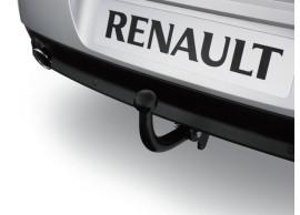 Renault Laguna 2010 - 2015 trekhaak met vaste kogel 7711427704+7711427705