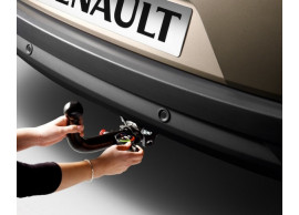 Renault Megane 2008 - 2016 trekhaak met afneembare kogel 7711428285+7711428711