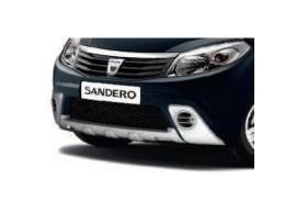 Dacia Sandero 2008 - 2012 grille zwart 6001998378