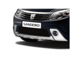 Dacia Sandero 2008 - 2012 voorbumper skidplate 7711425353