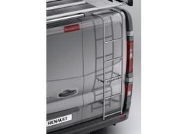 Renault Trafic 2014 - .. stalen ladder, verzinkt - klapdeuren 8201468217