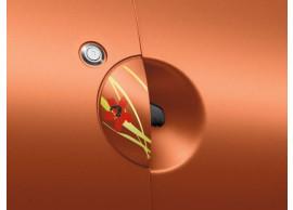 Renault Twingo 2007 - 2014 portiergreepsticker klaproos 7711422133