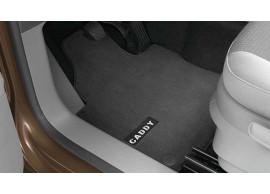 volkswagen-caddy-2010-vloermatten-premium-voor-met-caddy-opschrift-met-drukknop-bevestiging-2K1061275PBRYJ