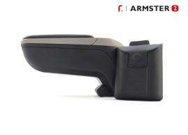 Armsteun Smart ForTwo / ForFour 2015 .. Armster 2 zwart / grijs V00835