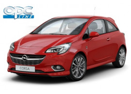 Opel Corsa E 3-drs OPC-line pakket met dakspoiler (zonder trekhaak) 39035309