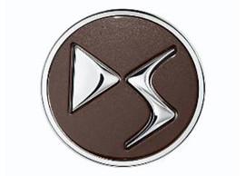 DS naafdoppen Brun Topaze met DS-logo CIT1616886580