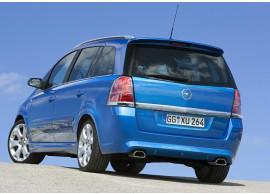 Opel Zafira B OPC achterbumper zonder parkeerhulp 93187480