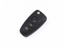 Ford klapsleutelbehuizing met drie knoppen