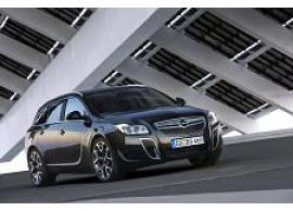 Opel Insignia A OPC voorbumper 2009 - 2013 met parkeerhulp en met koplampsproeiers 13330973