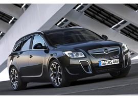 Opel Insignia A OPC voorbumper 2009 - 2013 met parkeerhulp en zonder koplampsproeiers 13330972