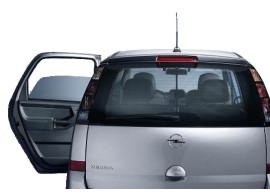 Opel Meriva A zonnescherm achterdeuren
