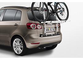 Volkswagen-Golf-Plus-Fietsendrager-voor-op-achterklep-2-fietsen-5M0071104