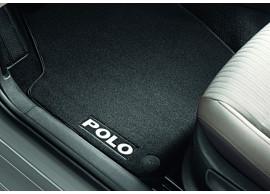 Volkswagen-Polo-Velours-mattenset-voor-en-achter-6R1061270P-WGK